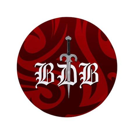 "BDB Red 3.5"" Button"