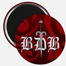 Red BDB Logo Magnet