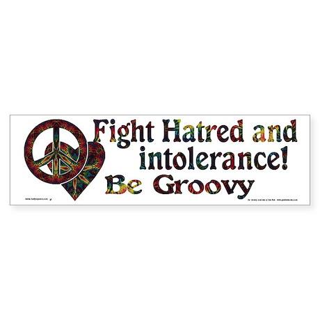 Be Groovy Bumper Sticker