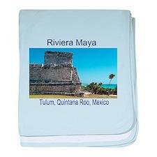 Riviera Maya, Tulum, QR, MX R baby blanket