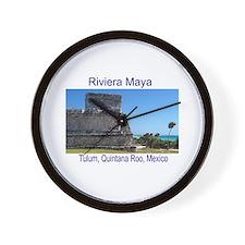 Riviera Maya, Tulum, QR, MX R Wall Clock