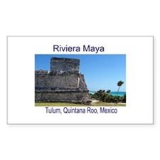 Riviera Maya, Tulum, QR, MX R Decal