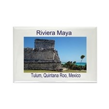 Riviera Maya, Tulum, QR, MX R Rectangle Magnet