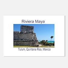 Riviera Maya, Tulum, QR, MX R Postcards (Package o