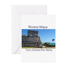 Riviera Maya, Tulum, QR, MX R Greeting Card