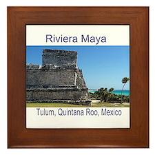 Riviera Maya, Tulum, QR, MX R Framed Tile