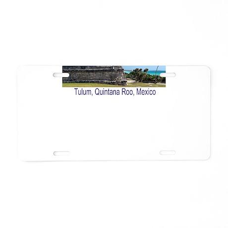 Riviera Maya, Tulum, QR, MX R Aluminum License Pla