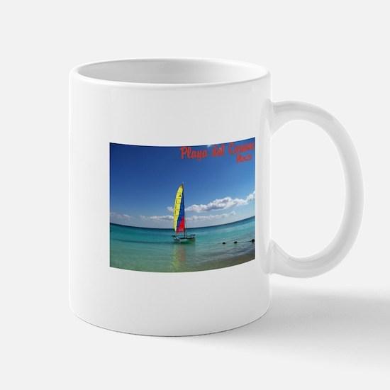 Playa del Carmen, MX Sailboat Mug