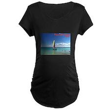 Playa del Carmen, MX Sailboat T-Shirt