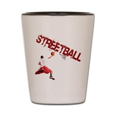 Streetball Dunk Shot Glass