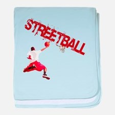 Streetball Dunk baby blanket