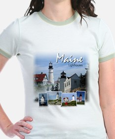 Maine Lighthouses T-Shirt