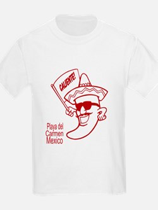 Playa del Carmen, Caliente! R T-Shirt