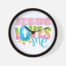 Cute Baby jesus Wall Clock