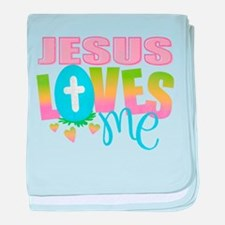 Cute Religious baby blanket