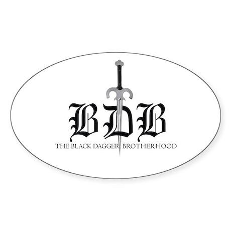 BDB Dagger Logo Sticker (Oval)