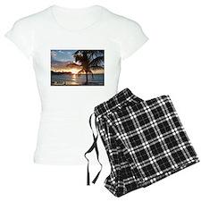 Akumal Sunrise - Palm Tree, Y Pajamas