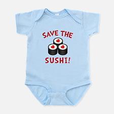 Save The Sushi Infant Bodysuit