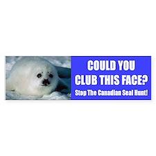 Canadian Seal Hunt Bumper Bumper Bumper Sticker
