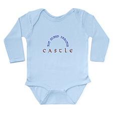 Eat Sleep Breathe Castle Long Sleeve Infant Bodysu
