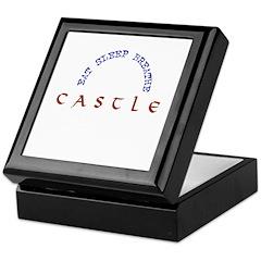 Eat Sleep Breathe Castle Keepsake Box