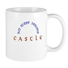 Eat Sleep Breathe Castle Mug