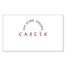 Eat Sleep Breathe Castle Decal