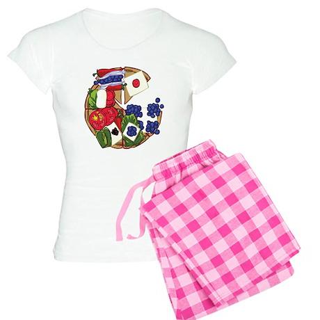 PIZZA Women's Light Pajamas