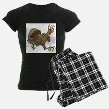 TERRIFIED TURKEY Pajamas