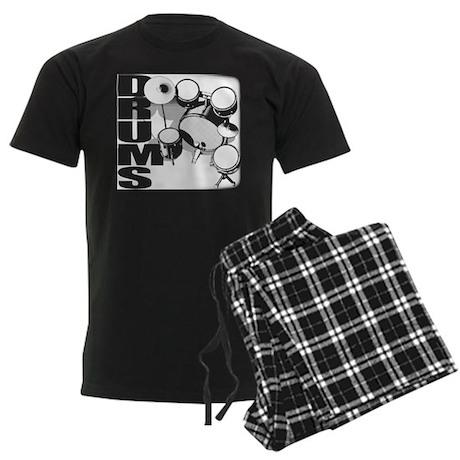 DRUM SET Men's Dark Pajamas