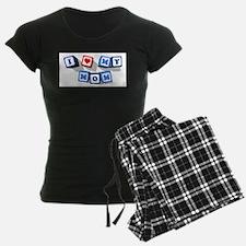 I LOVE MY MOM Pajamas