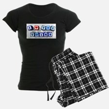 I LOVE THE TWINS Pajamas