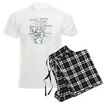 Fortune teller Men's Light Pajamas