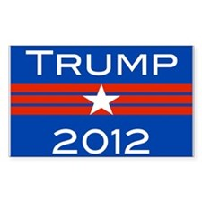 Cute Trump 2012 Decal