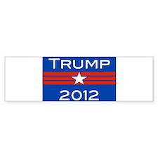 Cute Trump 2012 Bumper Sticker