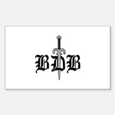 BDB Dagger Logo Decal