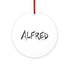 Alfred Ornament (Round)