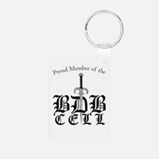 Proud Member of the BDB Cell Aluminum Keychain