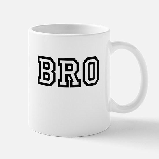Bro College Letters Mug