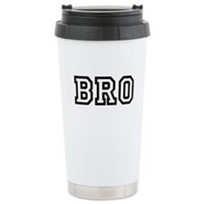 Bro College Letters Travel Mug