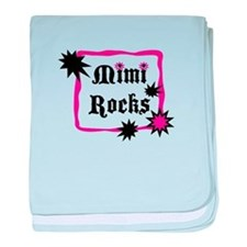 Mimi Rocks baby blanket