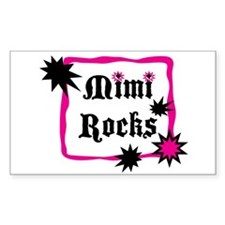 Mimi Rocks Decal