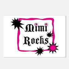 Mimi Rocks Postcards (Package of 8)