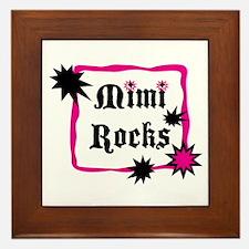 Mimi Rocks Framed Tile