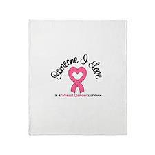 Someone I Love (BC) Throw Blanket
