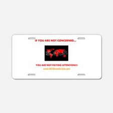 OUTRAGE Aluminum License Plate