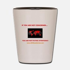 OUTRAGE Shot Glass