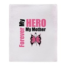 BreastCancerHero Mother Throw Blanket