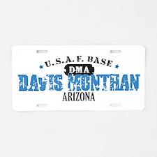 Davis Monthan Air Force Base Aluminum License Plat