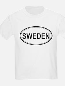 Sweden Euro Kids T-Shirt